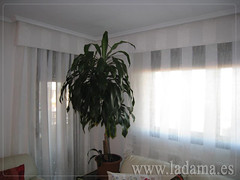 "Decoración para Salones Clásicos: Cortinas con Dobles Cortinas y Bandos, Tapicerías, Paneles Japoneses, Estores... • <a style=""font-size:0.8em;"" href=""http://www.flickr.com/photos/67662386@N08/6476319537/"" target=""_blank"">View on Flickr</a>"