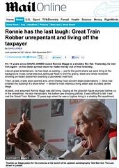 Mail (Ronnie Biggs The Album) Tags: ronnie biggs greattrainrobbery oddmanout ronniebiggs ronaldbiggs