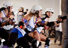 20111201.WorldCup1_1478 (Axle Adams) Tags: toronto sports rollerderby rollergirls skaters bunker worldcup derby skates teamusa bloodandthunder starsvsstripes