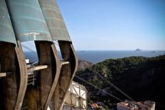 Pão de Açúcar 2 (((( o )))) Tags: sea brazil rio azul brasil riodejaneiro de landscape mar paisaje cielo pan pão azucar açúcar telesferico montaa