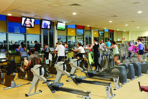 Sport UNE gym by UNE Photos, on Flickr