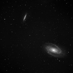 M81 M82 data combination (chris_swatton) Tags: light sky white black wheel night canon dark eos mark ss tube cigar hampshire mount telescope filter galaxy astrophotography short orion 314 mk2 5d astronomy ccd 130 combination mkii tmb 80mm m82 m81 bodes skywatcher lrgb atik heq5 130mm 314l tmb130ss shorttube