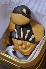 Chocolate Kissed Dulce de Leche Wafers (Chefdruck) Tags: holiday cookie dulcedeleche cookieexchangepicnik