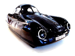 Porsche Typ 64 / VW Typ 60 K10 'Berlin-Rom-Wagen' 1939 -2- (Zappadong) Tags: museum vw hamburg 64 porsche 60 1939 k10 typ prototyp 2011 berlinromwagen