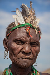 portrait dassanech tribe old woman near omorate, lower valley of the omo, ethiopia (anthony pappone photography) Tags: africa travel portrait people woman digital canon pose photography photo eyes foto faces image expression retrato african picture culture portraiture afrika omovalley fotografia ethiopia tribe ritratto blackgirl reportage photograher afrique faccia omo eastafrica phototravel etiopia etnic  etnico ethiopie turkana etiope etnia  galeb loweromovalley etnica etnologia afryka omorate etiopija  dassanech etiopien etipia africantribe  etiopi dassanechtribe eos5dmarkii dasanach  lowervalleyoftheomo lowervalleyomo