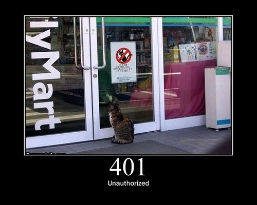 401 - Unauthorized