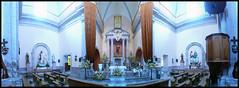 Cuasiparroquia de San Isidro Labrador en Mirandillas, Jalisco (Oscar AM) Tags: mxico iglesia altar templo jal sanmiguelelalto sanisidrolabrador mirandillas