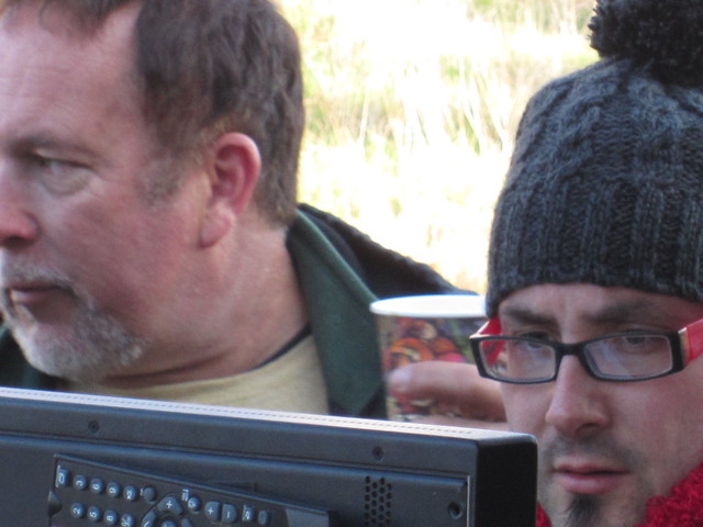 Royce Dudley, Paul Morrell, Director, #HUFFmovie , Production Stills