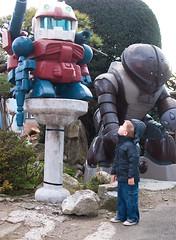 Little Gundam (lilraindrops) Tags: boy japan toddler child son robots gundam