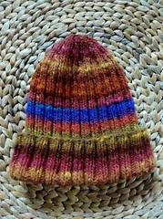 Cadeau de dernire minute... (chabronico) Tags: wool tricot knitting knit bonnet kureyon noro laine ctes revers