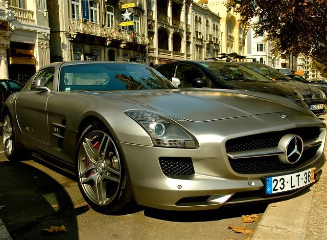 cars portugal mercedes benz lisbon mercedesbenz v8 sls amg saldanha worldcars supersportive slsamg portesàpapillon
