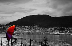 Bergen Dream (Dora Joey) Tags: blackandwhite norway landscape dream bergen paesaggio norvegia biancoenero sogno soffrire bestcapturesaoi