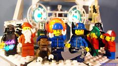Day 352 (chrisofpie) Tags: chris pie monkey lego doug legos hero heroes minifig roger minifigure bluehat legohero chrisofpie rogeranddoug 365legos dougthechimp