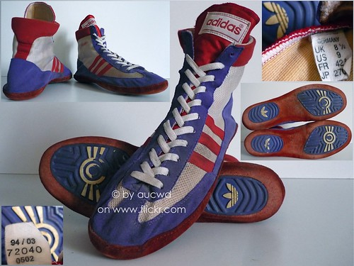 Flickriver: Photoset 'ADIDAS WRESTLING SHOES' by aucwd