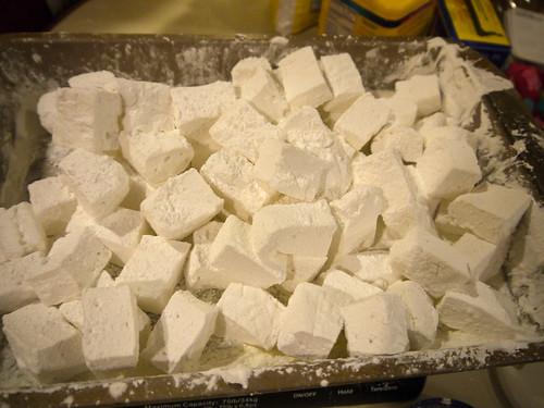 Homemade marshmallows, © terrabytefarm