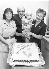 40th Anniversary of NHS cake (Voices Through Corridors) Tags: celebration