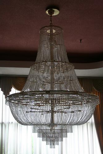 Main lobby chandelier