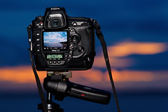 #850C8105- Sunset Shooter (crimsonbelt) Tags: sunset nikon bokeh hanger balikpapan d3s