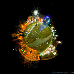 Planet: Light Paint (Awake at Night) Tags: nightphotography lightpainting wool southdakota blackhills nikon orb panoramic tokina sd lp domes spearfish bhsu noctography d300s awakeatnight nightpanosphere