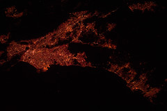 Los Angeles Area at Night (NASA, International Space Station, 12/25/11) (NASA's Marshall Space Flight Center) Tags: california carson losangeles sandiego santamonica nasa longbeach hollywood alhambra beverlyhills burbank tijuana pasadena orangecounty santaana anaheim pomona fullerton elsegundo saltonsea marinadelrey inglewood torrance internationalspacestation earthatnight stationscience crewearthobservation stationresearch iss30e015737
