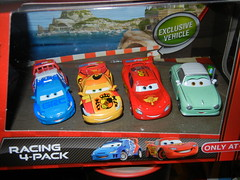 disney cars 2 target exclusive denise beam 4 pack (1) (jadafiend) Tags: scale kids toys model disney puzzle pixar remotecontrol collectors adults variation francesco launcher cars2 crewchief lightningmcqueen lewishamilton targetexclusive kmartexclusive collectandconnect raoulcaroule jeffgorvette johnlassetire carlomaserati piniontanaka carlavelosocrewchief mcqueenalive denisebeam meldorado pitcrewfillmore francescoscrewchief