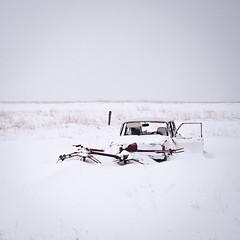 Resting (SteinaMatt) Tags: christmas white snow cars matt nikon december finished vehicle 28 mm nikkor desember jl 1755 2011 steinunn steina d7000 matthasdttir