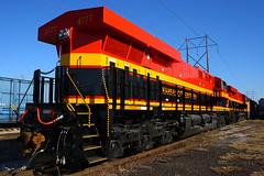 Brand New KCS ES44ACs at Kansas City, MO (Mo-Pump) Tags: railroad train locomotive railfan railroader