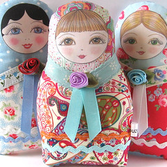 Matryoshka cloth doll Olga (Zouzou Design) Tags: babushka matryoshka russiandoll clothdoll nestingdoll stackingdoll plushdoll fabricdoll softierussiandoll