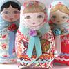 Matryoshka cloth doll Olga (Zouzou Design) Tags: babushka matryoshka russiandoll clothdoll nestingdoll stackingdoll plushdoll fabricdoll softierussiandoll