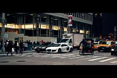 R8 (kielan prince) Tags: newyorkcity newyork canon manhattan taxi ave audi 6thavenue r8 avenueoftheamericas 35l t2i