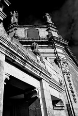 Mouldings (albireo 2006) Tags: blackandwhite bw sculpture building stone architecture wow chapel malta pb bn baroque architettura siggiewi blackandwhitephotos 5photosaday blackwhitephotos kartpostal totalphoto obliquemind obliquamente chapelofourladyofprovidence kappellatalprovidenza talprovidenza