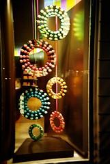 Pierre Herme II (CameraCharlie) Tags: street city color colour london film window shop circle hope store lomo lca lomography display pierre circles knightsbridge lowndes macarons macaron 100iso herme