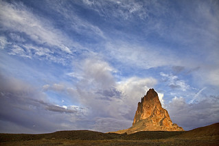 Agathla Peak in Dramatic Light
