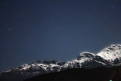 under the stars (dtsortanidis) Tags: blue sky mountain snow night canon stars greece starry dimitris 500d dimitrios erymanthos Astrometrydotnet:status=solved Astrometrydotnet:version=14400 tsortanidis Astrometrydotnet:id=alpha20120187025937