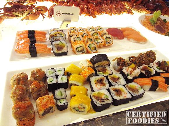 Sushi station!