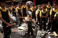 Black Nazarene, 5 Year old Member (guasch) Tags: old feast kid sticks fiesta child 5 year marching nazareno lyre snare nazarene pyesta bandquiapo