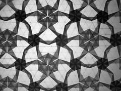 hexagons and triangles twist detailed (ЗЗ) Tags: art paper geometry twist tessellation tessellations tesselation paperfolding papiroflexia fujimoto chrispalmer octagons dodecagon flowertower shadowfold