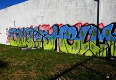 COLT45, HELM (S C R A T C H I E S) Tags: graffiti florida miami 45 colt helm wh dms colt45
