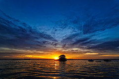 #850C7551- Sunset Island (Zoemies...) Tags: sunset sea beach clouds island balikpapan melawai zoemies