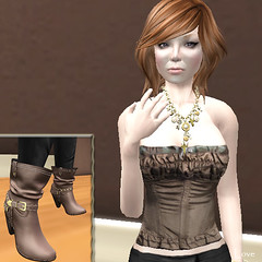 Shopping Day a (lovesimondsen) Tags: secondlife exile aura nn fashionblog fashionablylate slfashion tresblah fishystrawberry centopallini lovesimondsen hluzza