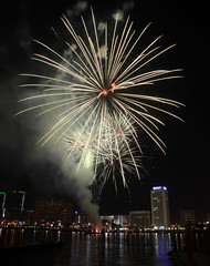 DSF 2012 FIREWORKS (snaido) Tags: light reflection water colors festival night creek shopping dubai fireworks photos streaks 2012 dsf snaido