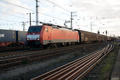 DBS 189 024 met schuifwandwagens (Durk Houtsma.) Tags: bf duitsland dbs emmerich shimmns dbschenker habiins 189024