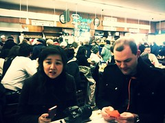 Katz's Deli, Lower East Side - Sunday 15 January 2011 (Jeffrey) Tags: nyc newyorkcity friends food newyork les design manhattan lowereastside deli jewish ux interaction designers delicatessen katzsdeli