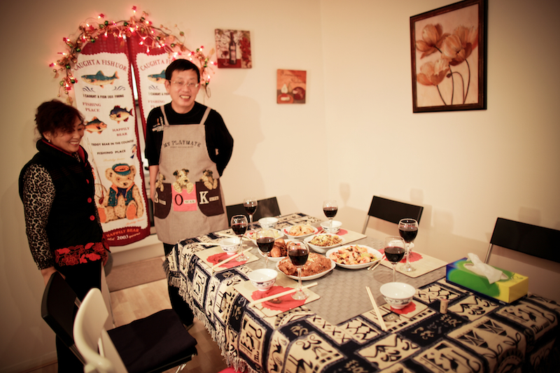 Chen Jie home dinner 013