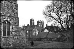View of Durham Cathedral from St Margrets church in Crossgate (CWhatPhotos) Tags: durhamcity northeastengland uk st margrets church crossgate durham canon eos dslr 450d sigma 1020 1020mm wide angle view pictures picture photo photos photographs photograph that have which contain images image foto fotos cwhatphotos flickr