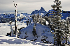 Beyond Boundaries (James Neeley) Tags: winter landscape handheld wyoming grandtetons tetons hdr f12 grandtarghee 5xp jamesneeley flickr24 fredsmountain
