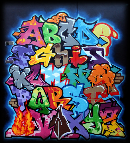 abcdefghijklmnopqrstuvwxyz graffiti