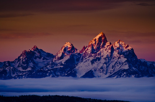 Tetons Rising!   ~ A new view of the Grand Tetons ~ Webinar with Nik Software
