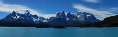 Panorama Macizo del Paine (Mono Andes) Tags: chile panorama patagonia andes parquenacional parquenacionaltorresdelpaine painegrande cuernosdelpaine regióndemagallanes lagopehoé macizodelpaine
