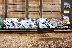 broke (MR. NIC GUY ^.^) Tags: california art train graffiti losangeles rip rail heads ya freight rk
